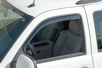 Chrome Trim Window Visors - Fits Dodge Charger 2005-2010 (Front Only)