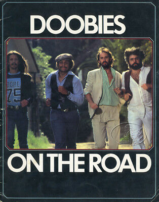 "DOOBIE BROTHERS 1979 Tour Concert Program Book JEFF ""SKUNK"" BAXTER"