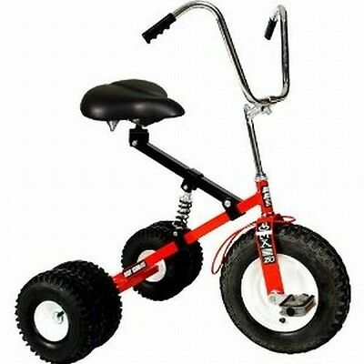 Dirt King Adult Dually Tricycle Trike RED DK-252-AR