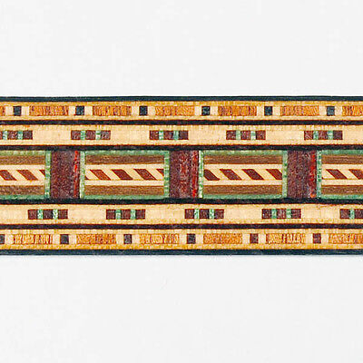 Fabulous Rarely Seen  Buffard Frères Marquetry Banding Strips (Inlay-12)