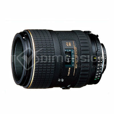 Tokina AT-X 100mm f2.8 f/2.8 pro macro For Canon S1491