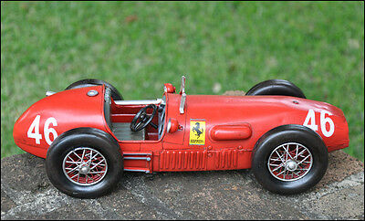 Handmade 1952 RED FERRARI 500 F2 1:12 Collectable Car Model -All Wheels Moveable