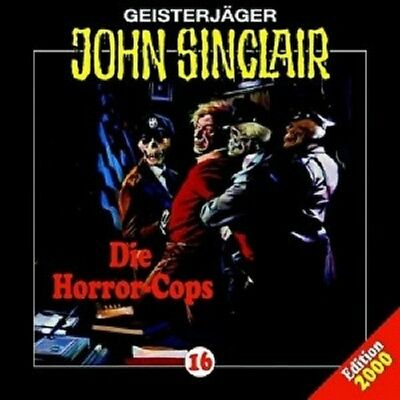 John Sinclair: Folge 16 - Die Horror-Cops  Cd New