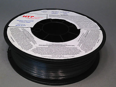 """10lb .030"""" HTP Flux Cored E71T-11 Gasless Steel Mig Wire core Made in USA"""