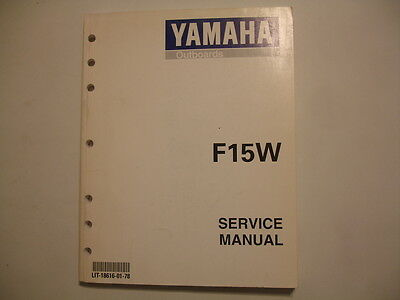 yamaha outboard motor repair manual