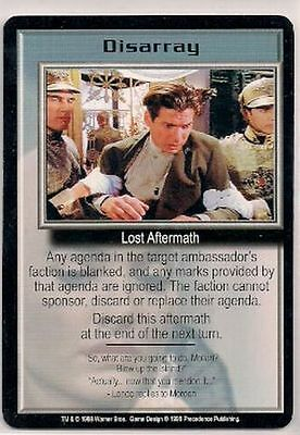 Babylon 5 CCG Promo Disarray NM
