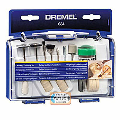 Dremel 684 Cleaning & Polishing Rotary Set - Multi Power Tool Accessories