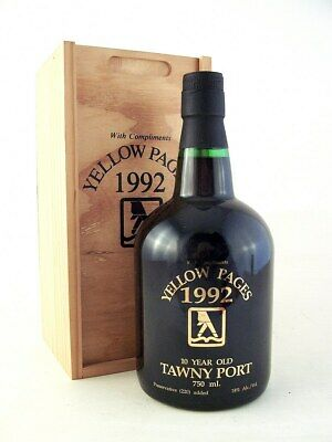 1992 HENRY MARTIN Yellow Pages 10YO Port Isle of Wine