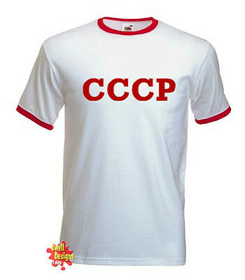 CCCP communist, russia, political, soviet T Shirt All Sizes