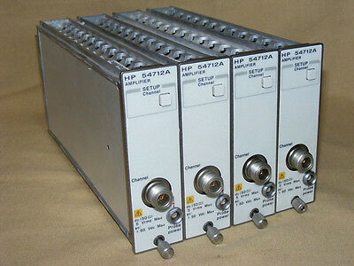 hp Agilent  54712A Plug-in 1GHz Amplifier for 54720D