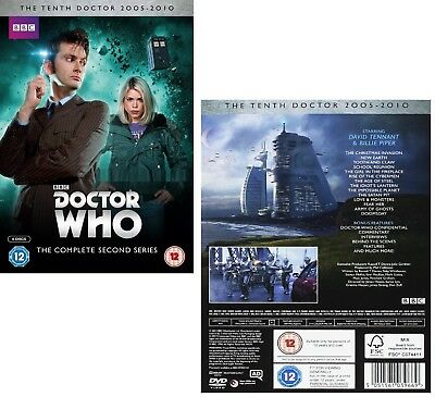 DR WHO 2006 Series 2+2005 CHRISTMAS Doctor David TENNANT Season R2/4 DVD not US