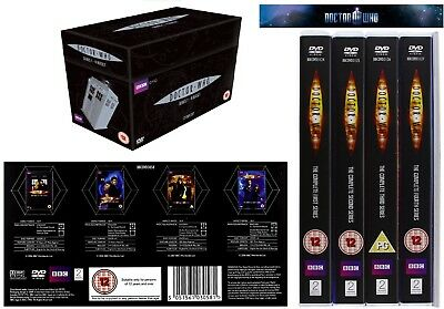 DR WHO 2005-2008 1-4 Series Collection Doctors Eccleston Tennant Seasons NEW DVD
