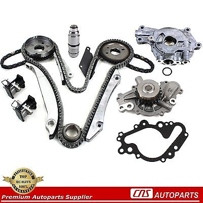 02 03 04 05 Chrysler Dodge 2.7L 167 Engine Timing Chain Kit Water & Oil Pump EER