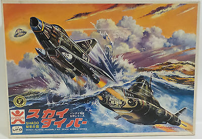 Ufo : Skydiver Model Kit Made By Bandai Signed By Ed Bishop