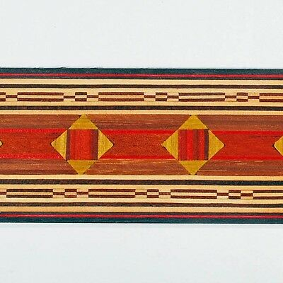 """1-3/4"""" Egyptian Inspired Buffard Frères Marquetry Banding Strips (Inlay-72)"""