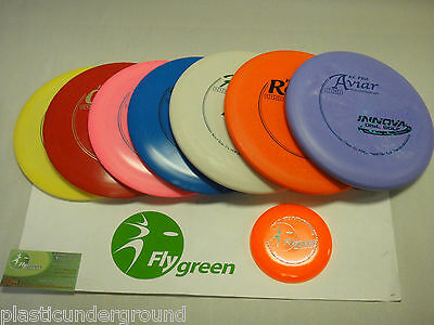 Innova Frisbee Disc Golf Build Your Own Pro 7 Disk Set + Mini+ Instr Guide +More