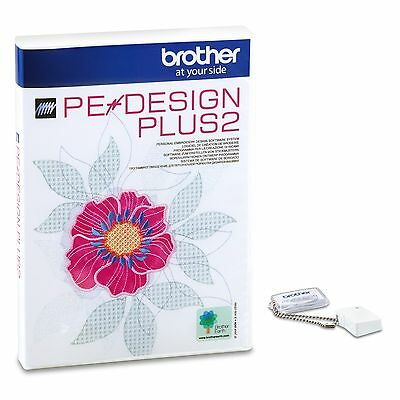 Brother PE Design Plus 2 Embroidery  Design Software A129