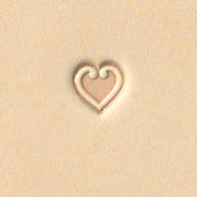Craftool Heart Stamp 68085 by Tandy Leather