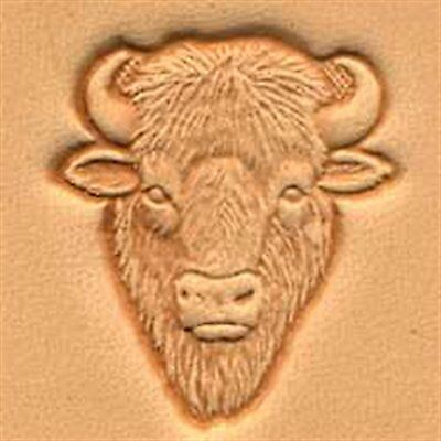 Buffalo Head 3d Stamp New 88458-00 by Tandy Leather