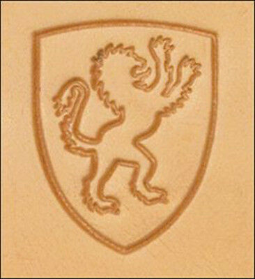 Craftool 3d Lion Shield Stamp 8616-00 by Tandy Leather