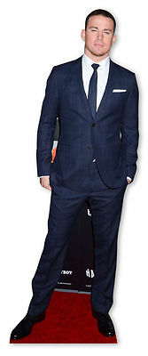 CHANNING TATUM LIFESIZE CARDBOARD CUTOUT STANDEE STANDUP Hollywood Star Actor