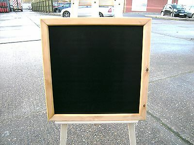"FRAMED CHALKBOARD - MENU - SPECIALS BOARD -  24"" x 24""  G/O"