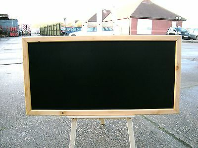 "FRAMED CHALKBOARD - MENU - SPECIALS BOARD - 24"" x 48""  G/O"