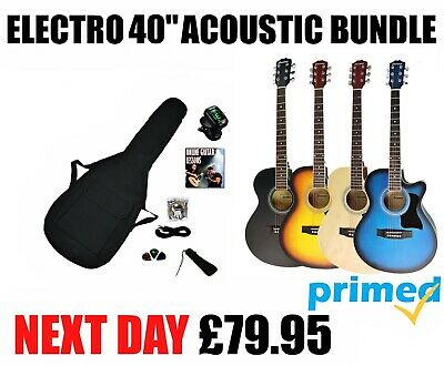 Benson Panther electric electro acoustic guitar package left & right handed