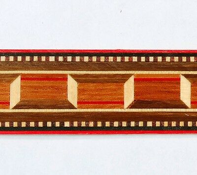 One inch - Classic Ribbon - Buffard Frères Marquetry Banding Strips (Inlay-35)