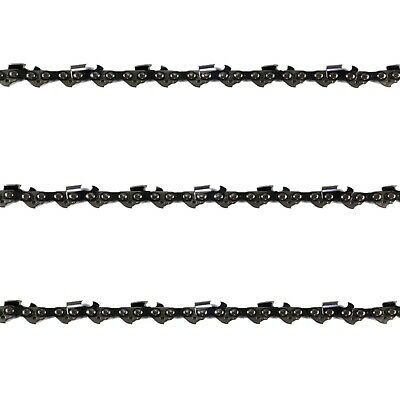 "3x Chainsaw Chains Semi 3/8 058 72DL for Jonsered Saw with 20"" Bar"