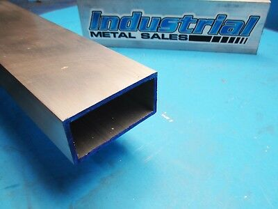 "1-1/2"" x 3"" x 12""-Long x 1/8"" Wall 6063 T52 Aluminum Rectangle Tube-->1.5"" x 3"""