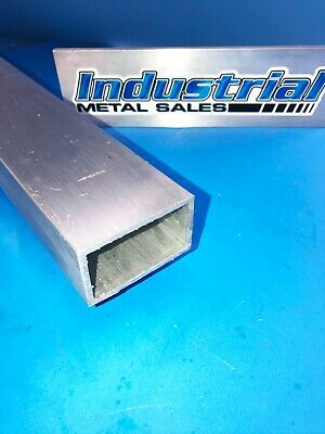 "6063 T52 Aluminum Rectangle Tube 1-1/2"" x 2-1/2 "" x 24""-Long x 1/8"" Wall-->NEW !"