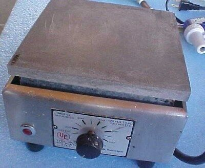 "Thermolyne  6¼""  Type 1900 Aluminum Top Hotplate"
