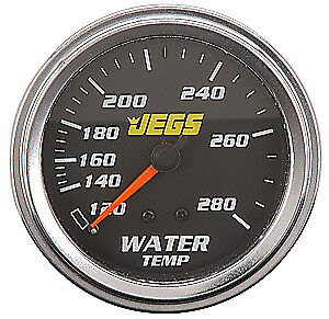 """JEGS Performance Products 41201 2-5/8"""" Mechanical Water Temperature Gauge"""