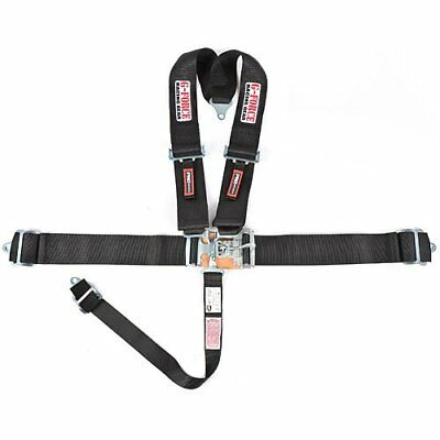 G-FORCE 6020BK Pro-Series Latch & Link 4-Point V-Type Harness