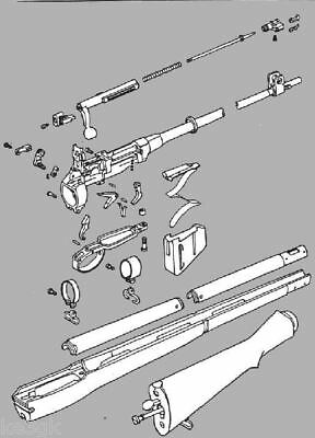 1917 Enfield Rifle Disassembly and Reassembly * CDROM * PDF