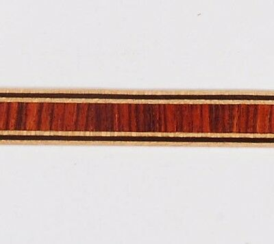 "3/8"" Vertical Kingwood -- Frères Marquetry Banding Strips (Inlay-236)"