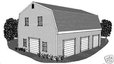 36x28 3 car garage building plans dormered loft 12x28 for 30x40 shop with loft