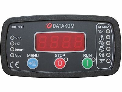 DATAKOM DKG-116 Generator Manual and Remote Start Control Panel /Unit/Controller