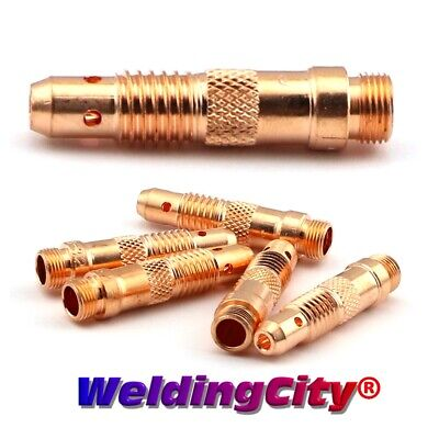 "5-pk TIG Welding Collet Body 10N32 (3/32"") Torch 17/18/26 