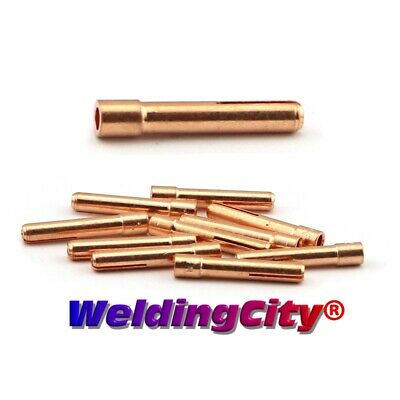 """WeldingCity 10 Collets 13N23 (3/32"""") for TIG Welding Torch 9/20/25"""