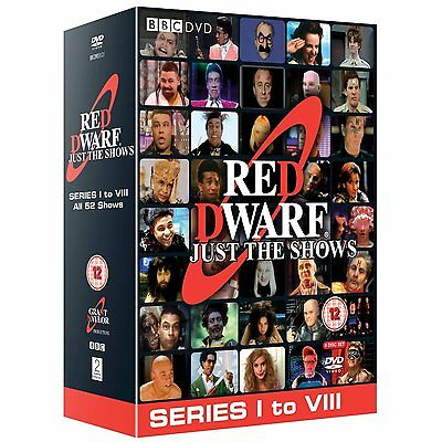Red Dwarf Just The Shows Complete Series Seasons 1 - 8 DVD Box Set R4 New Sealed