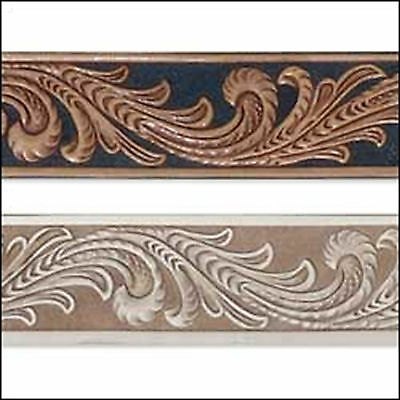 Embossed Floral Vine Belt Blank 4593-00 by Tandy Leather