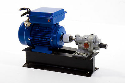 "3/4"" Gear Pump w/ 240V Drive - Oils, Fuel, Diesel - Australian Warranty"