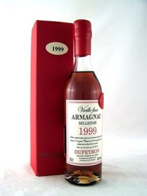 1999 Ryst Dupeyron Armagnac 200ml FREE SHIP Isle of Wine - Great 18th present!