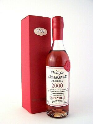 2000 Ryst Dupeyron Armagnac 200ml France FREE DELIVERY Isle of Wine Awesome Gift