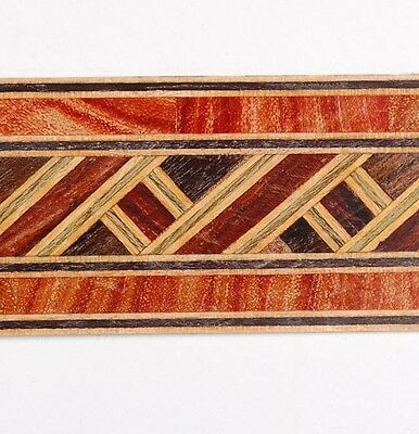 "1-1/4"" - Classic Pattern - Buffard Frères Marquetry Banding Strips (Inlay-44)"