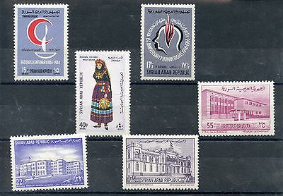 Stamp / Lot De Timbres Syrian De Syrie * Charnieres