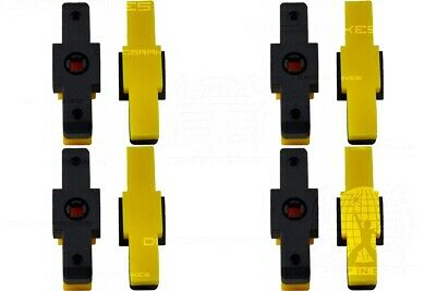 4 Pairs/8Pc Yellow Trials Pads for Magura Hydraulic Rim Brakes HS 11 22 33 66 77