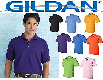 12 Golf Polo Shirts Gildan Blank Bulk Lot SMLXL Wholesale for embroidery